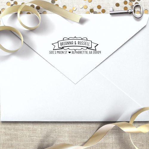 custom self inking return address stamps wedding address stamp
